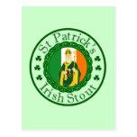 St. Patrick's Irish Stout Postcard