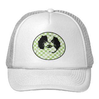 St Patricks - Japanese Chin Silhouette - Oreo Mesh Hat