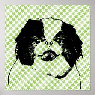 Shiba Inu 24 Tricks St Patrick's Day Dog P...