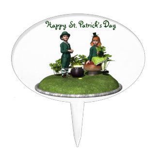 St. Patrick's Kids Cake Pick