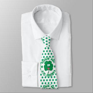 St. Patrick's  Kiss Me I'm Irish Polka Dot Necktie