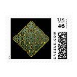 St. Patrick's Knotwork Shamrock Stamp