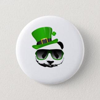 St. Patrick's Leprechaun Panda Button