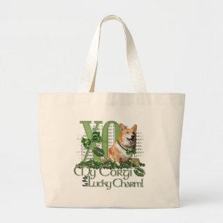 St Patricks - Me Lucky Charm - Corgi - Owen Bags