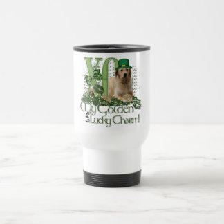 St Patricks - Me Lucky Charm - Golden Retriever Mugs