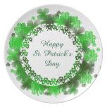 St Patrick's Melamine Plate