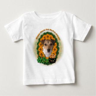 St Patricks - mina de oro - Jack Russell Camisetas