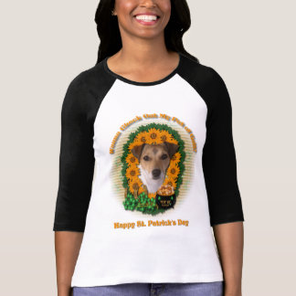 St Patricks - mina de oro - Jack Russell T-shirts