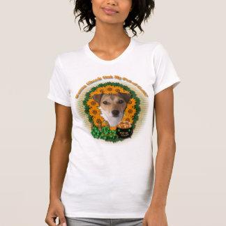 St Patricks - mina de oro - Jack Russell T Shirts