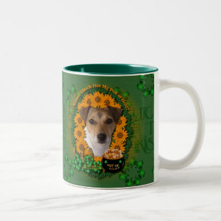 St Patricks - mina de oro - Jack Russell Tazas De Café