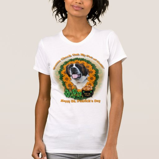 St Patricks - mina de oro - St Bernard - Mae Camiseta