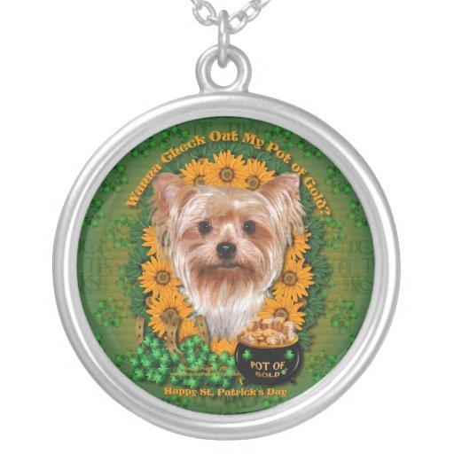 St Patricks - mina de oro - Yorkshire Terrier Joyerias
