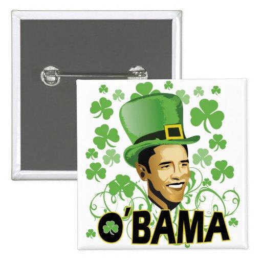 St Patrick's O'Bama 2009 Buttons