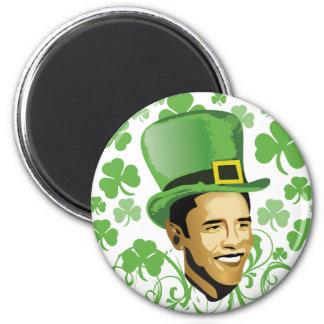 St Patrick's O'Bama 2009 2 Inch Round Magnet