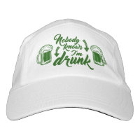 St Patricks Party Drunk Headsweats Hat