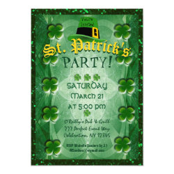 St. Patrick's Party Invitation