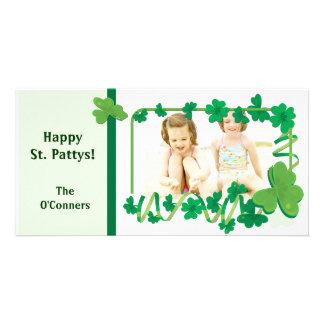 St. Patrick's Photo Card