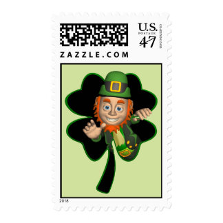 St. Patrick's postage stamps