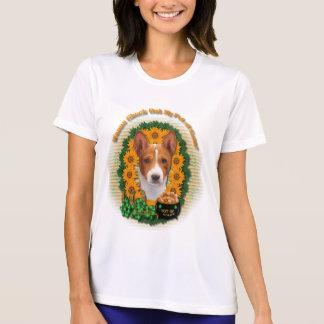 St Patricks - Pot of Gold - Basenji T-shirt