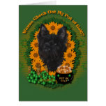 St Patricks - Pot of Gold - Cairn Terrier - Rosco Card