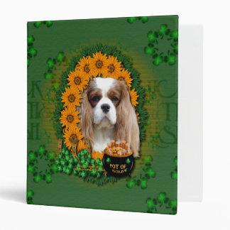 St Patricks - Pot of Gold - Cavalier - Light Vinyl Binders