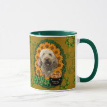 St Patricks - Pot of Gold - GoldenDoodle Mug