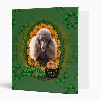 St Patricks - Pot of Gold - Poodle - Chocolate Binders