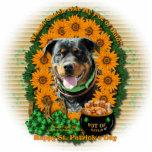 St Patricks - Pot of Gold - Rottweiler -SambaParTi Cut Out