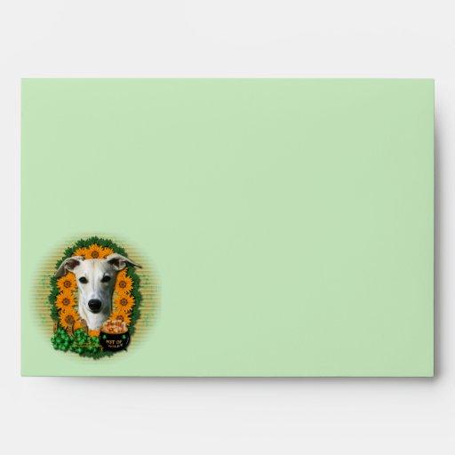 St Patricks - Pot of Gold - Whippet Envelopes
