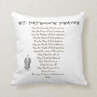 ST. PATRICK'S PRAYER THROW PILLOW