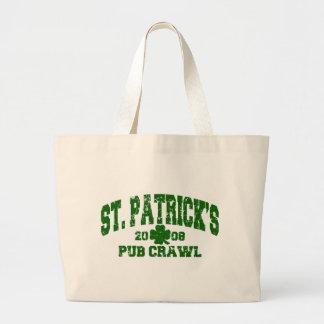 St. Patrick's Pub Crawls 2008 Distressed Bag