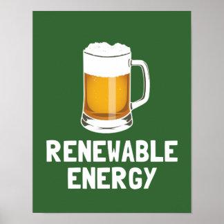 St. Patrick's Renewable Energy Beer Poster
