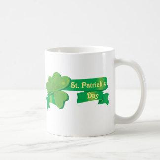 St Patrick's Ribbon Mug