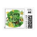 St. Patricks Shamrock Postage stamp