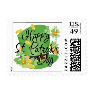 St. Patricks Shamrock Postage
