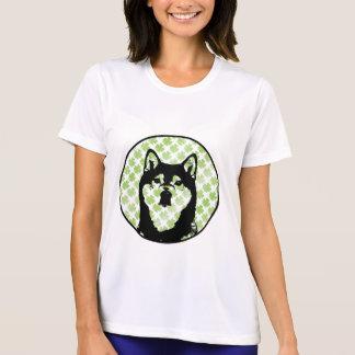 St Patricks - Shiba Inu Silhouette - Yasha T Shirt