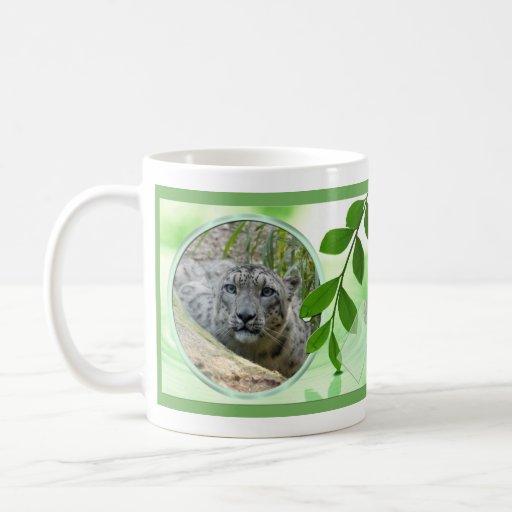 St. Patrick's Snow Leopard Mug