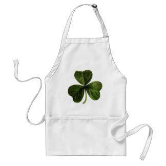St. Patrick's Three Leaf Clover Adult Apron