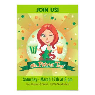 St. Patrick's Time Card