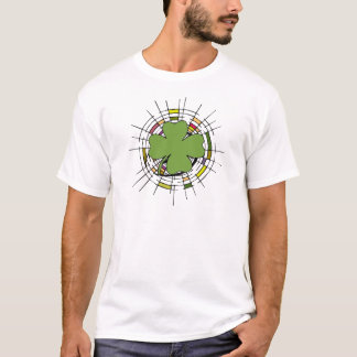 st. patrik's day, stained glass T-Shirt