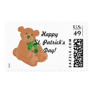 St. Pat's Bear Postage