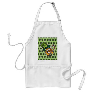 St Pat's Beer Monkey Adult Apron