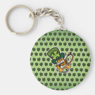 St Pat's Beer Monkey Keychain