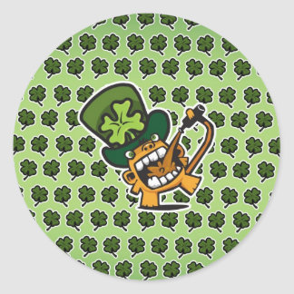 St Pat's Beer Monkey Stickers