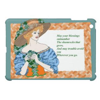 St. Pat's Blessing iPad Mini Cover