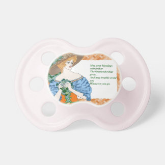 St. Pat's Blessing Pacifier