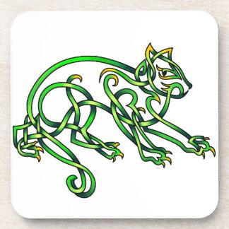 St. Pats Cat Coaster
