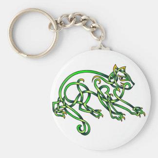 St. Pats Cat Key Chains