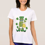 St. Pats Frog with Beer T-shirts and Gifts