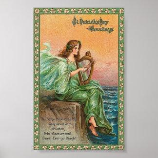 St. Pat's Harp Poster